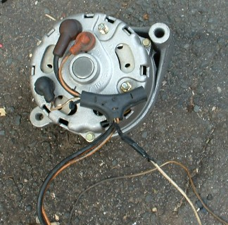 16 generator to alternator conversion 1965 mustang alternator wiring at bayanpartner.co
